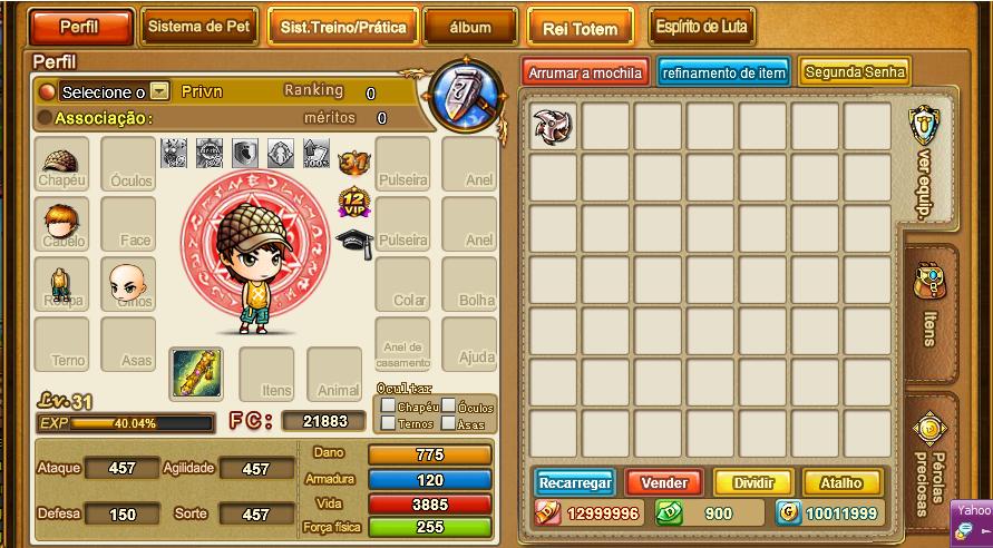 Hình ảnh trong game gunny lậu 2014