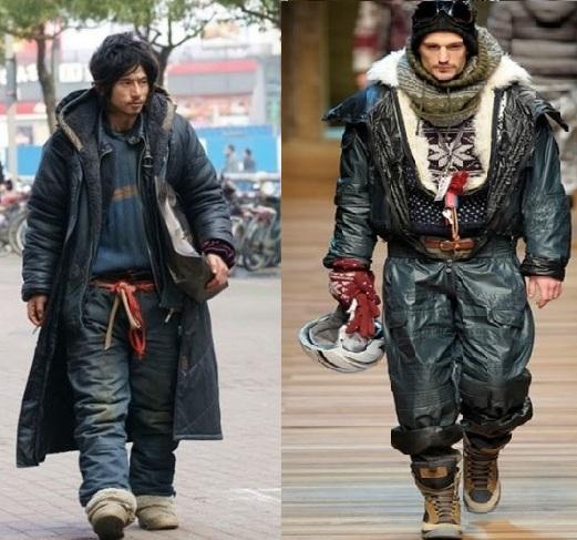 moda mendigo