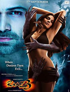 Poster de la pelicula de Raaz 3: The Third Dimension (2012)