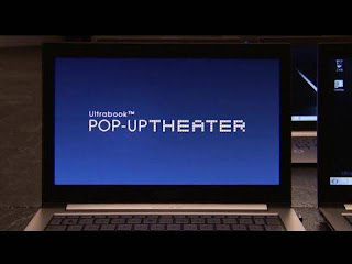 Intel Ultrabook Pop-Up Theater