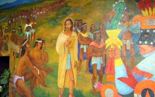 Atlantean gardens quetzalcoatl kukulkan viracocha for Mural quetzalcoatl
