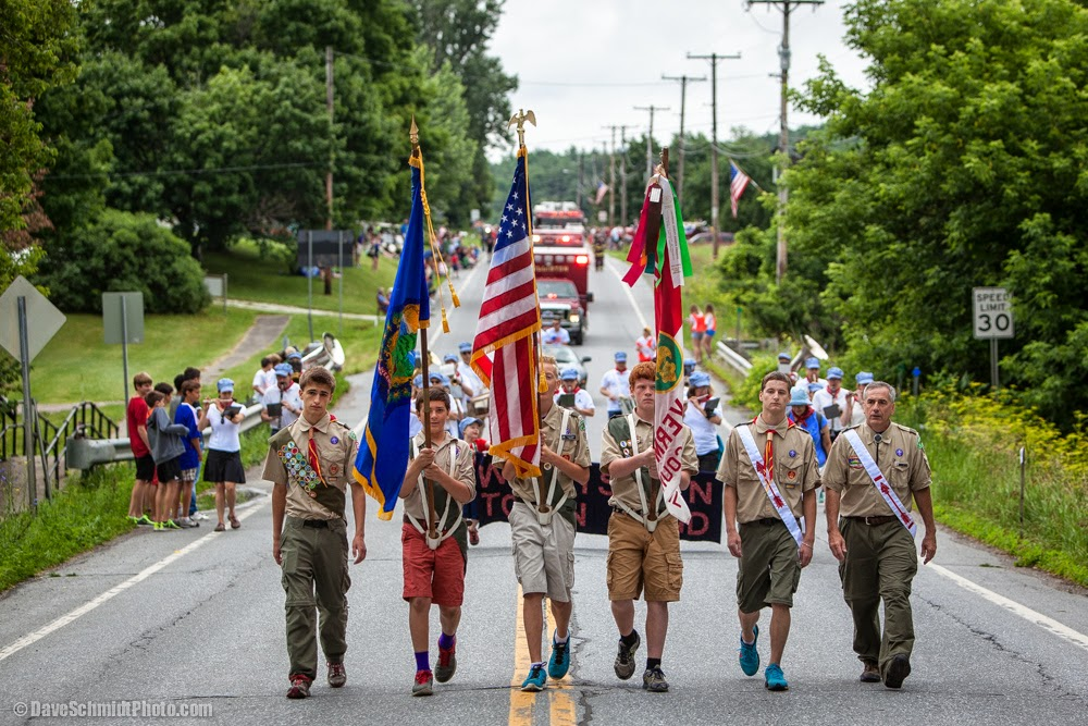 Williston, Vermont 4th of July Parade photo by Dave Schmidt Boy Scout Troop 692 l