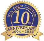 New Flight Charters 10th Anniversary