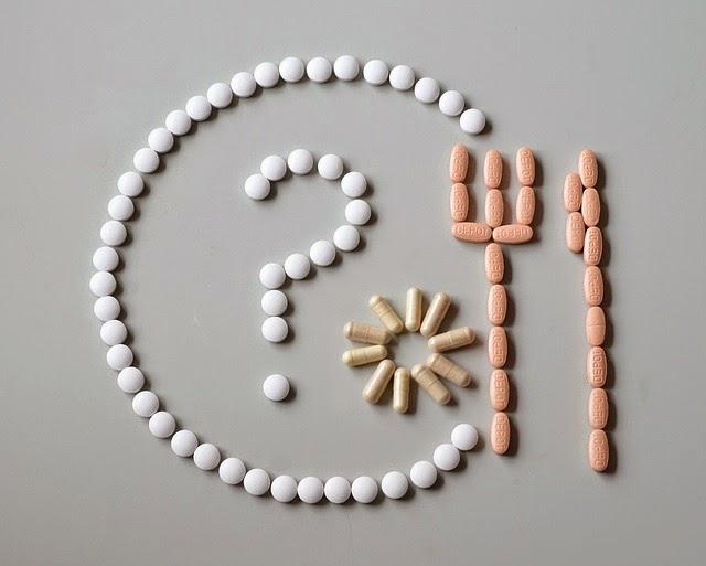 Bild aus Vitamintabletten