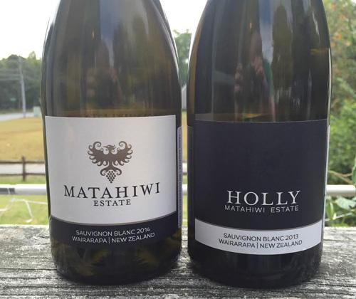 Matahiwi Estate Wairarapa Sauvignon Blanc 2014 & Holly Matahiwi Estate Wairarapa Sauvignon Blanc 2013