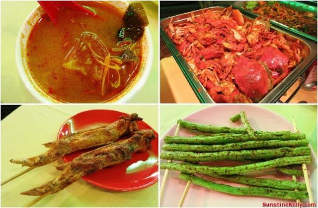 Bali Hai Seafood Village Kota Damasara, food, seafood restaurant, bali hai, ramadan buffet, balinese food, tom yam soup, sweet sour crab, crispy chicken wing, grilled french bean