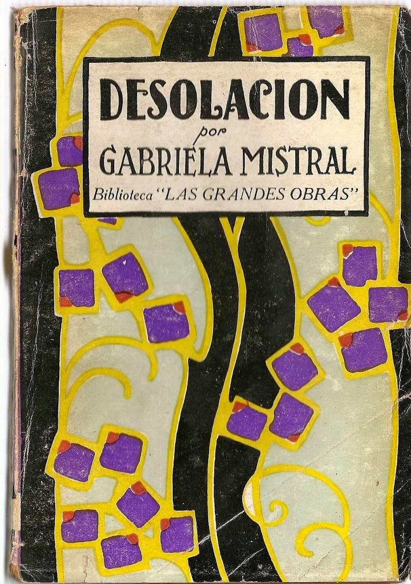 Gabriela Mistral obras literarias