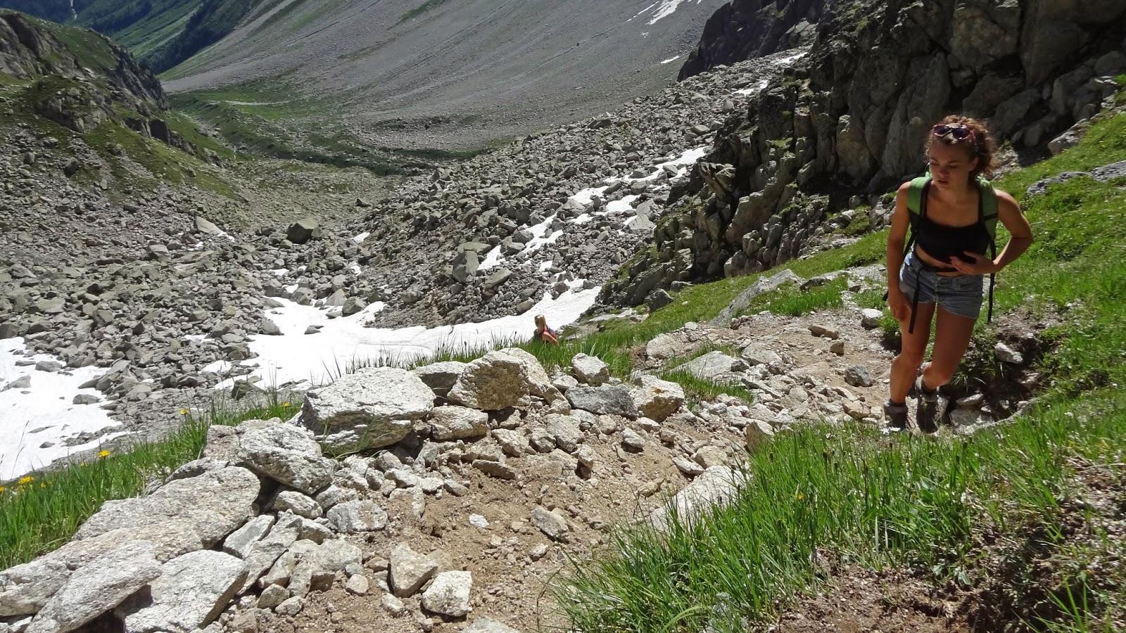 Le tour du mont blanc en solitaire for Fenetre d arpette
