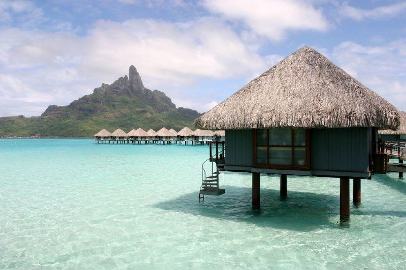 Onlinephotoalbum2pin Bora Bora Water Bungalows Le