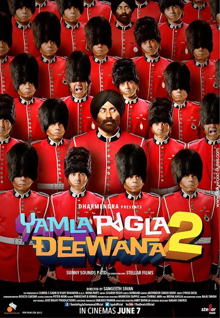 First Look Poster 2 - Yamla Pagla Deewana 2