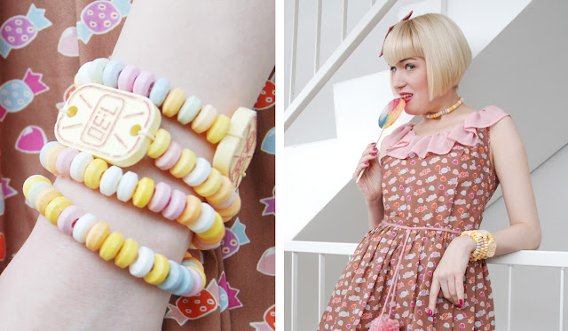 candy jewellery, fashion, cute, kawaii