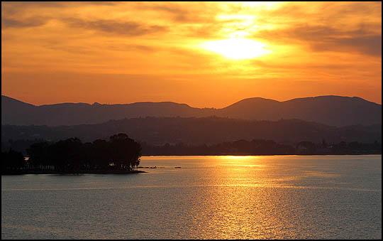 fiery glow burning sunset - photo #17