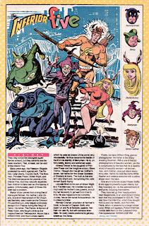 Cinco Inferiores (ficha dc comics)