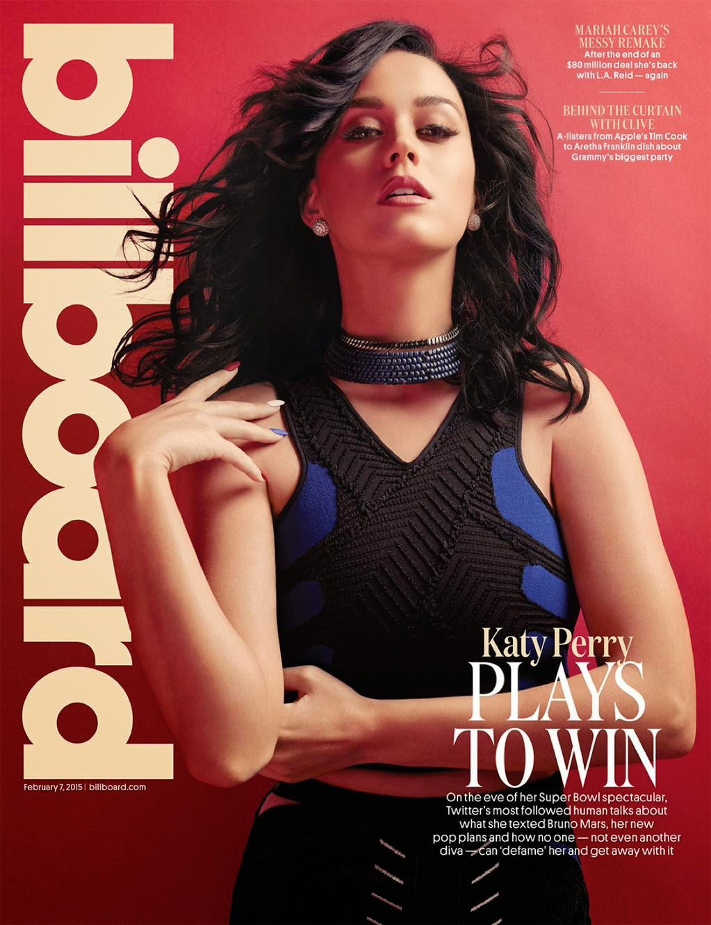 Singer, Songwriter, Actress: Katy Perry for Billboard