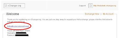Klik verifikasi di email