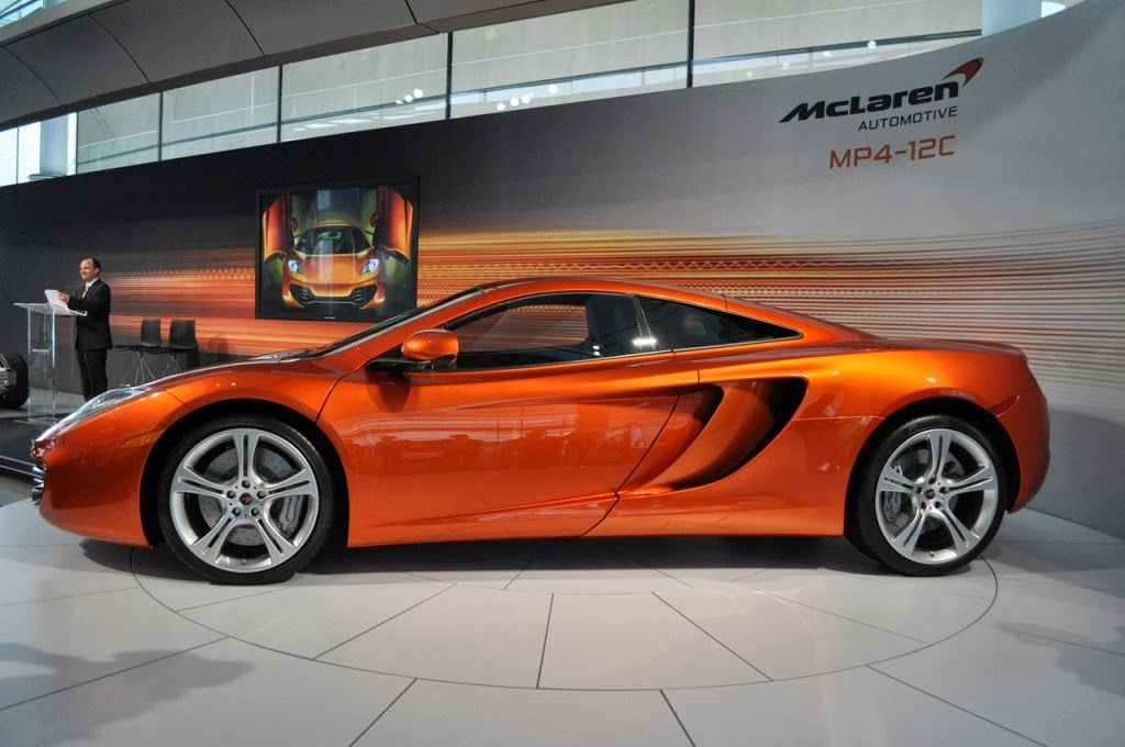 McLaren MP4-12C Shooting Brake Car