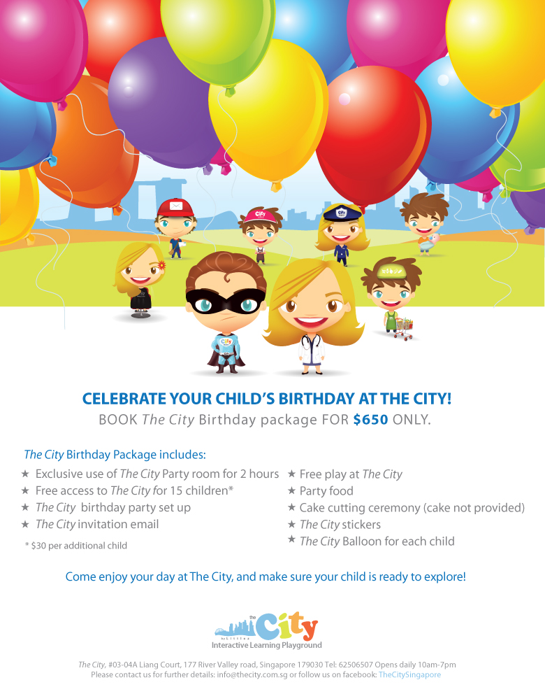 birthday parties at the city an interactive learning playground
