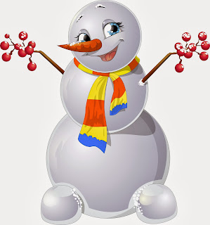 funny snowball santa