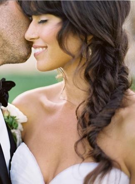 unique wedding hair style