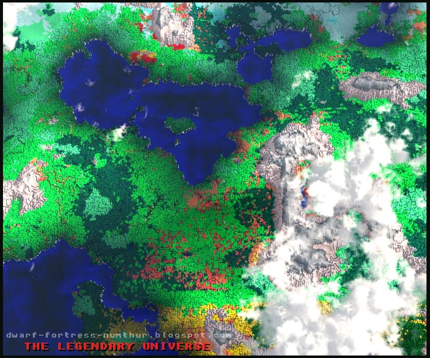 3d biome map the legendary universe dwarf fortress numthur