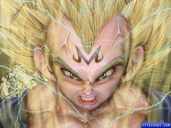 watak dragon ball menjadi realiti