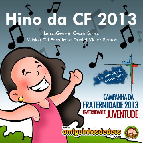 Hino da Campanha da Fraternidade 2013 para colorir