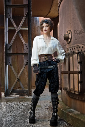 steampunk clothes for women