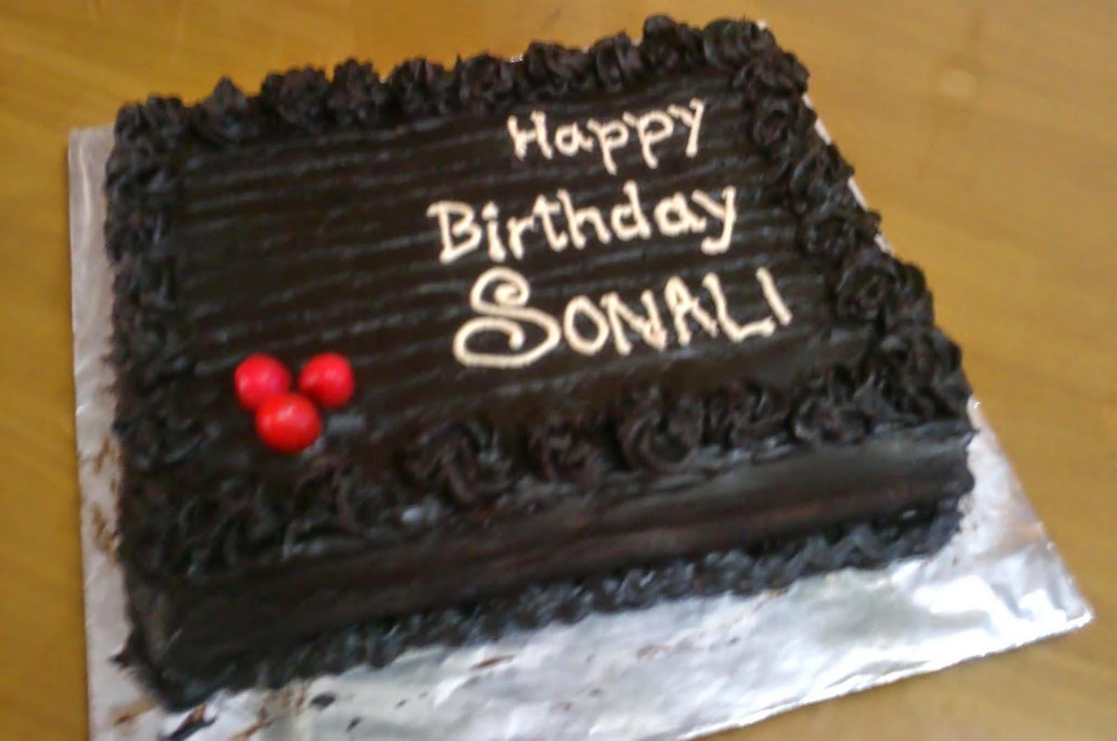 Cake Images Sonali : Birthday Cake