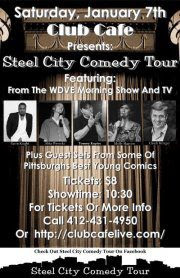 Steel City Comedy, Comedian, Pittsburgh, Wdve, Mike Wysocki, talent network, Chuck Krieger, Tommy Kupiec