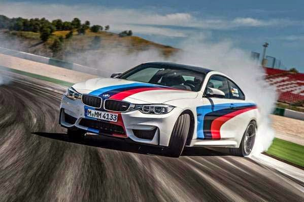 The M4 Coupe Tries On BMW's Official Racing Colors Testing