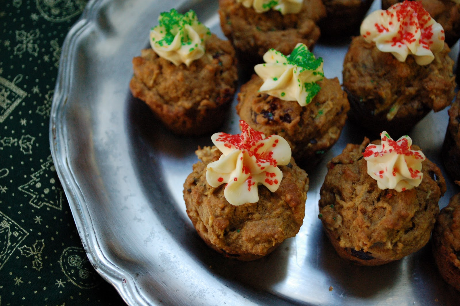 The Spice Garden: Multigrain Mini-Muffins with Orange ...
