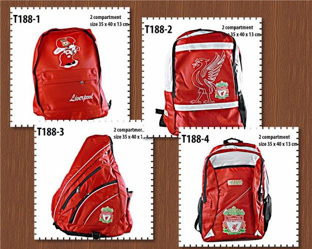 tas backpack fc, liverpool, anna gallery di tangerang