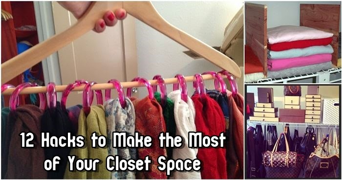 12 Hacks to Make the Most of Your Closet Space
