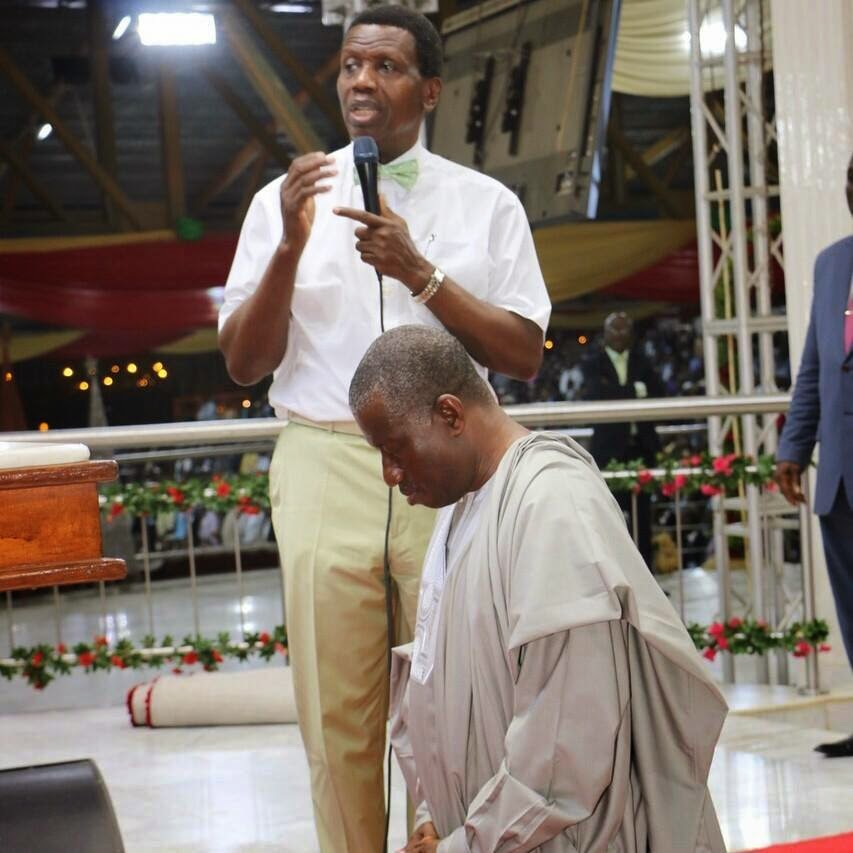adeboye praying jonathan