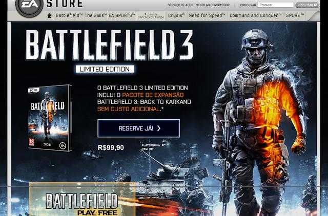 Battlefield, EAStore