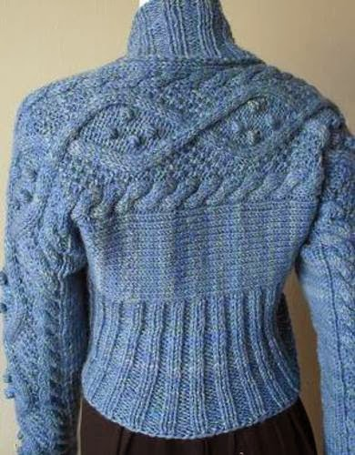 Free Aran Knitting Pattern : The Knitting Needle and the Damage Done: Out of Ireland