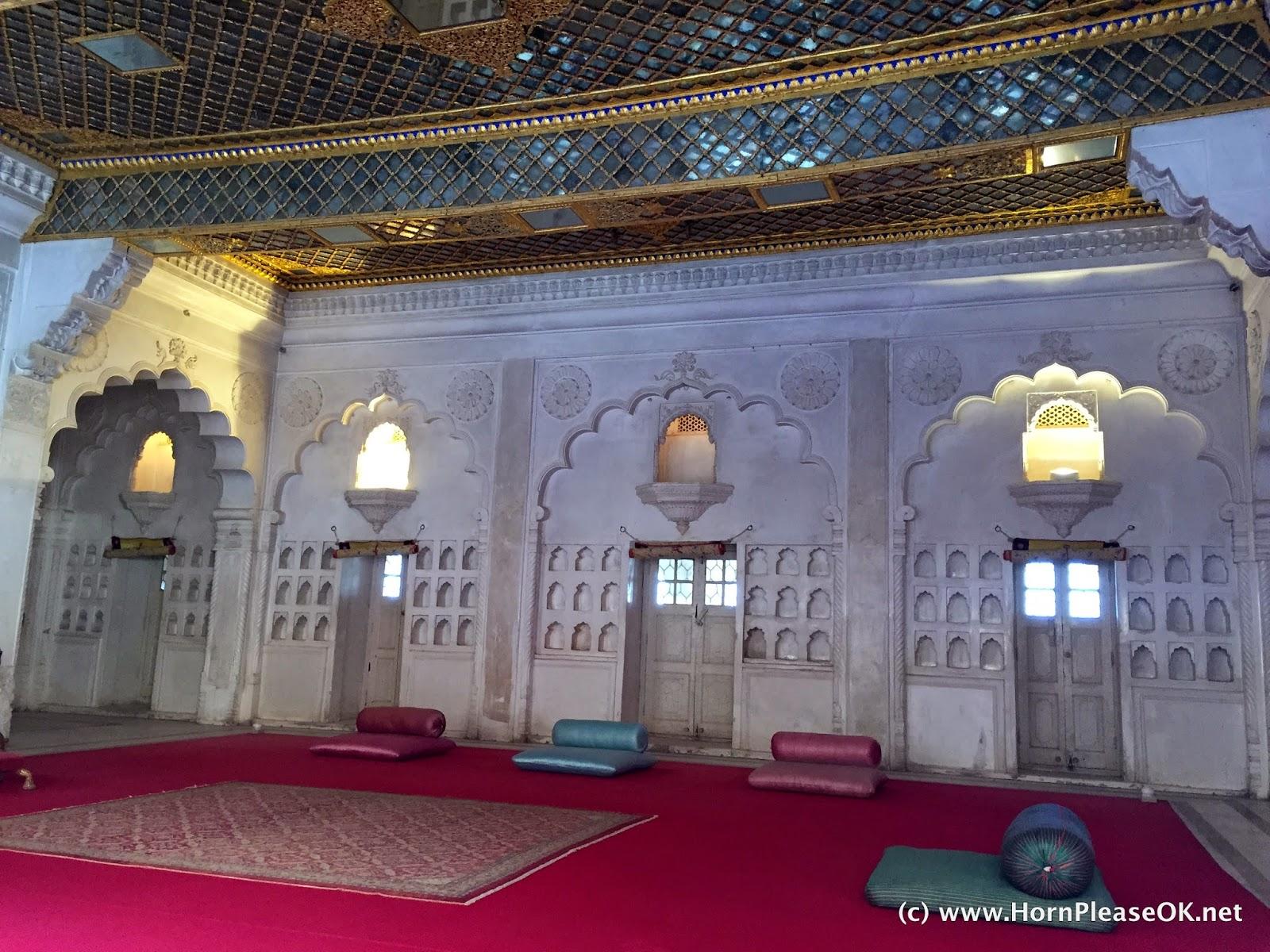 Moti Mahal inside Mehrangarh Fort