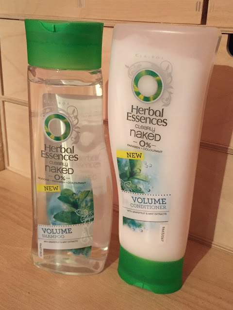 herbal essences shampoo and conditione