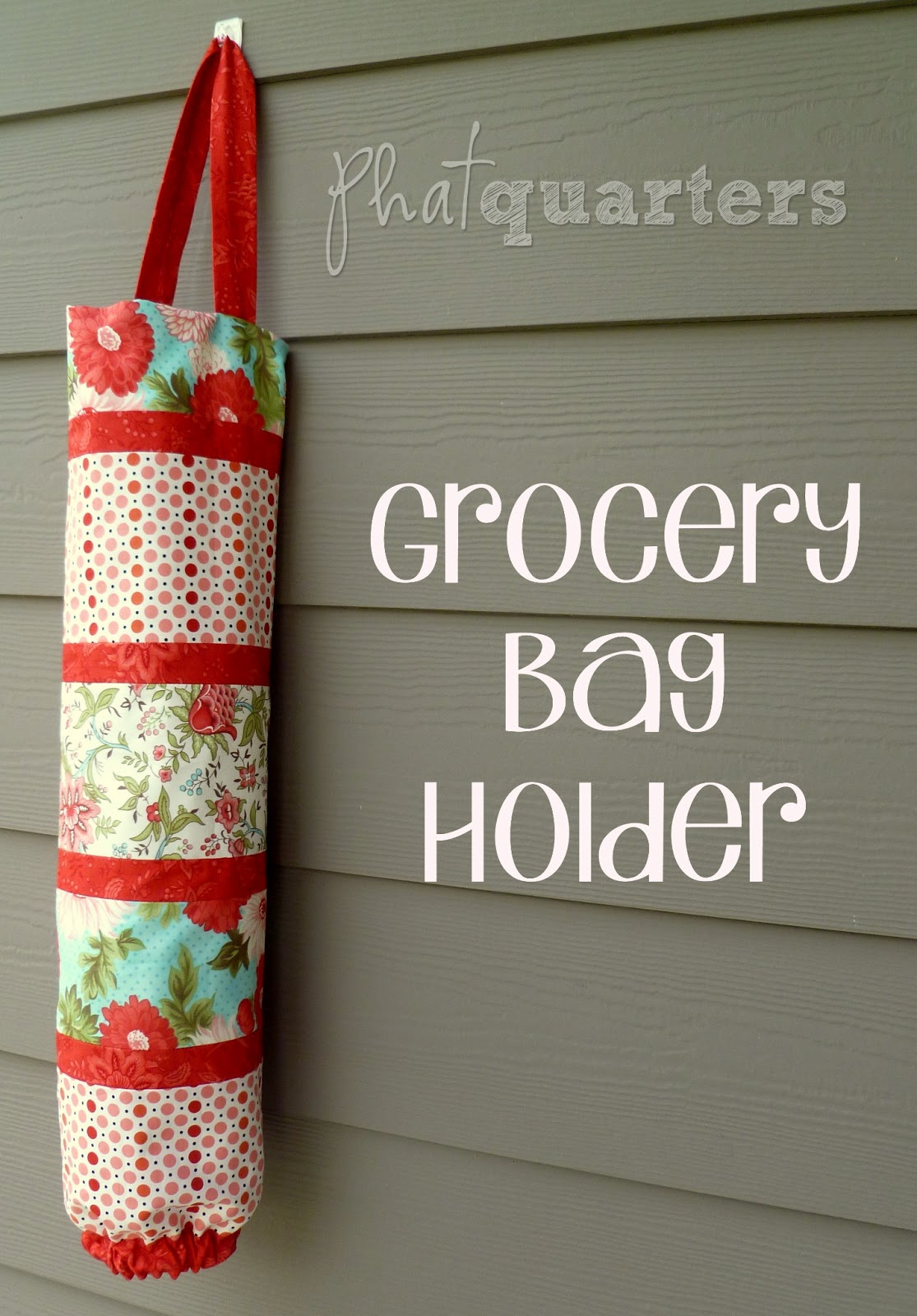 Phat quarters grocery bag holder