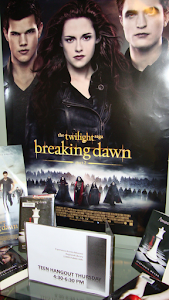 Receive a FREE Breaking Dawn Part II poster@Teen Hangout First come, first served until we run out