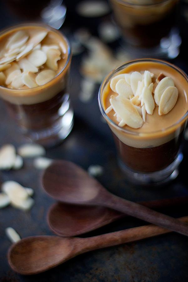 sobremesa com ganache de chocolate - receita