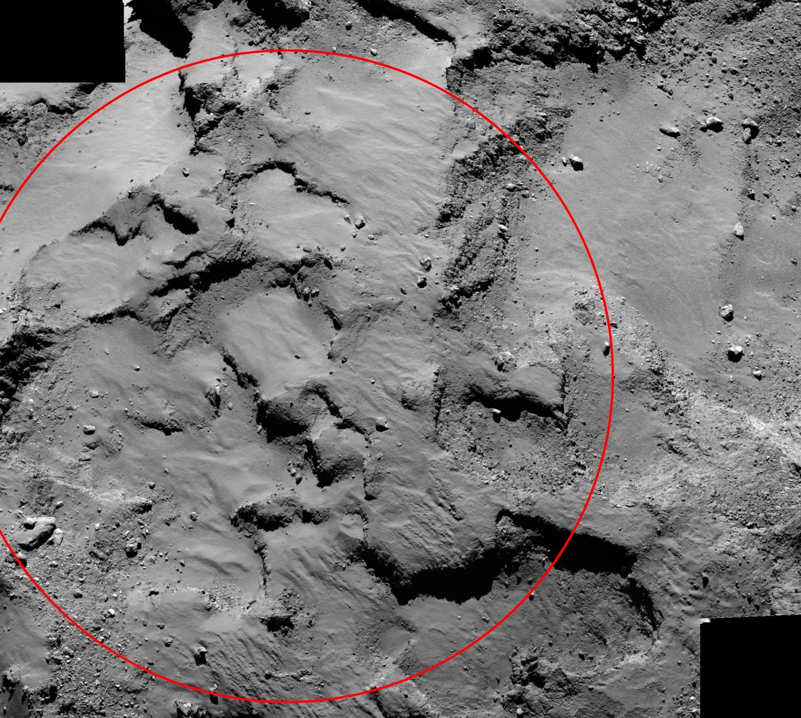 Космический аппарат Розетта готовится к отправке зонда на поверхность кометы
