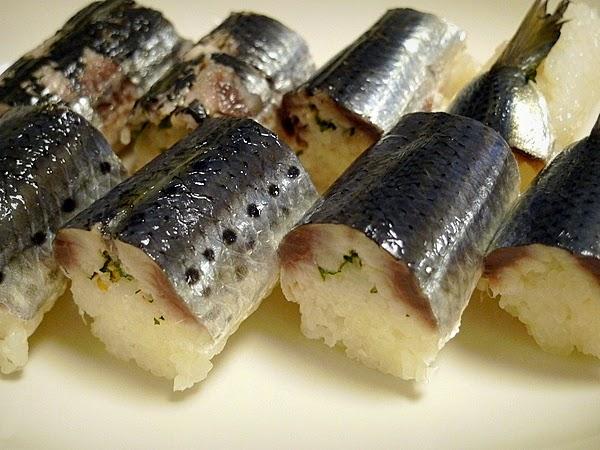 イワシ姿寿司