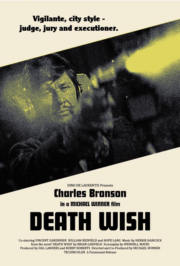 Silver Ferox Design: DEATH WISH (Michael Winner, 1974)