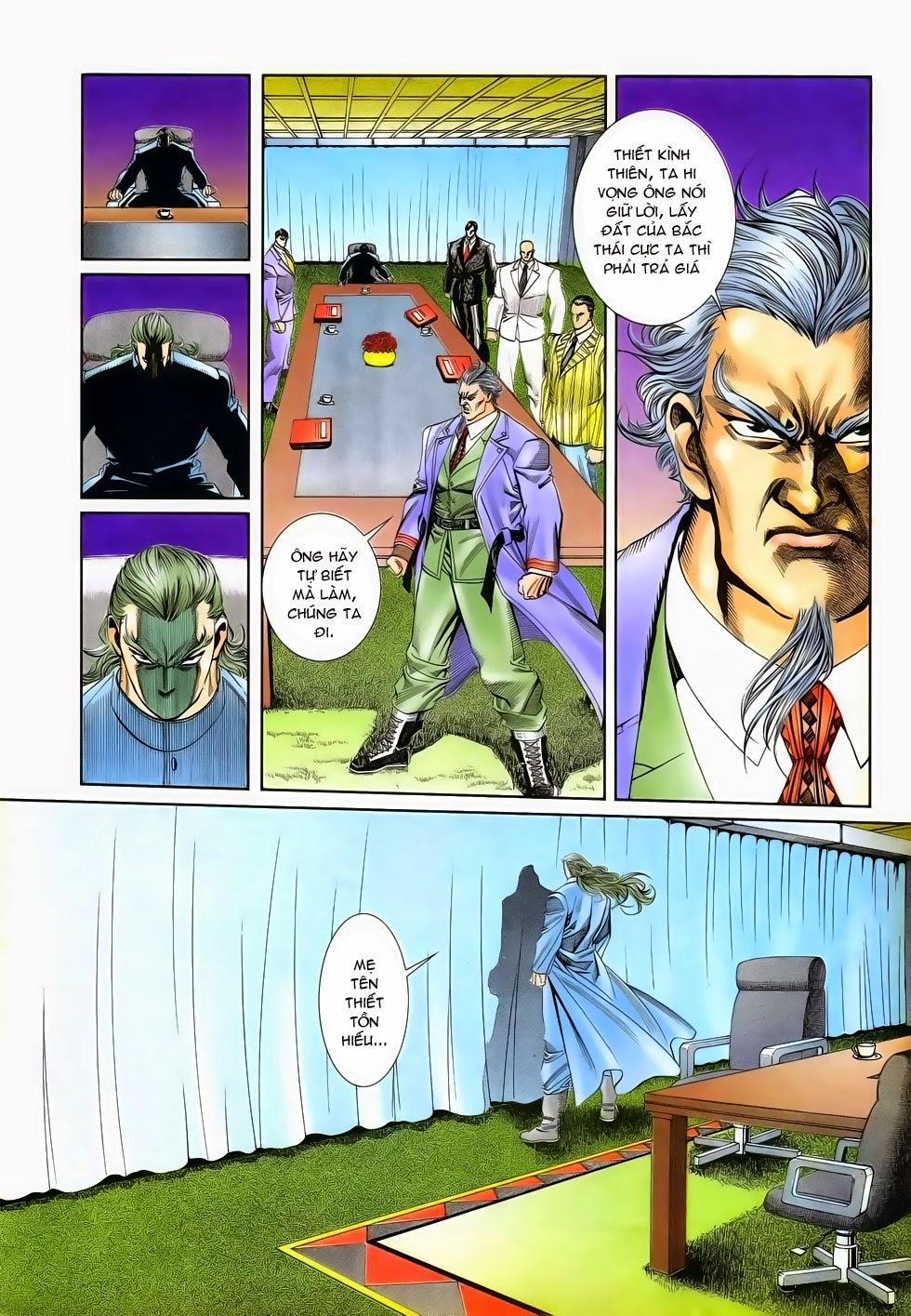Long Hổ Phong Bạo chap 3 - Trang 12