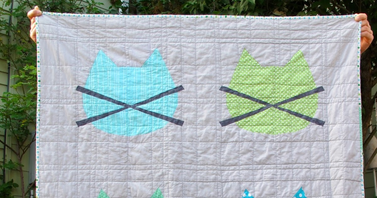 Whiskers: a Free Baby Quilt Pattern