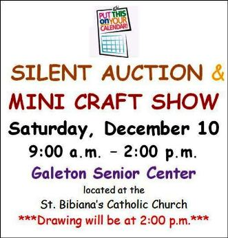 12-10 Auction & Craft Show, Galeton
