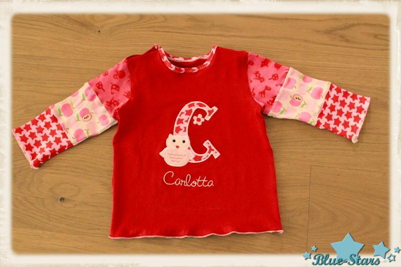 Blue-Stars: Baby Shirts und Schmuseenten