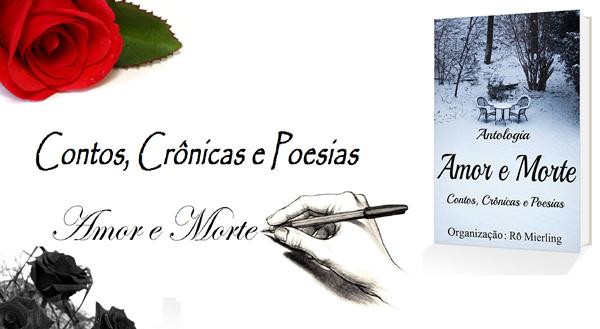 Antologia Amor e Morte, livro, Rô Mierling