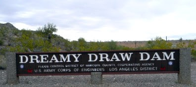 Dreamy Draw Dam Sign